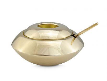 Form Sugar Bowl and Spoon