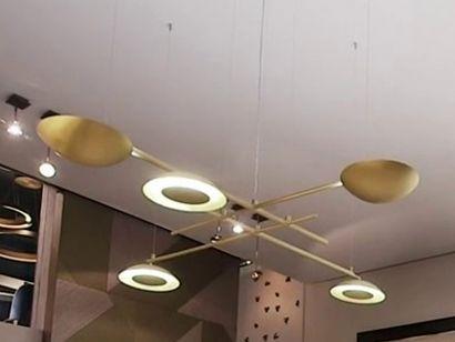 Gaia Big Suspension Lamp Laurameroni