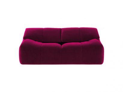 Plumy Two Seater Sofa - Galice Prune
