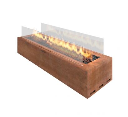 Galio Corten Outdoor Gas Fireplace