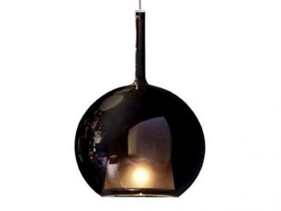 Glo Large Suspension Lamp - Black