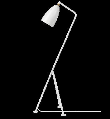 GM-1 Grashoppa Floor Lamp White