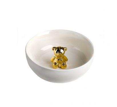 Bowl with Golden Bear Ciotola