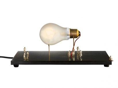 I Ricchi Poveri Monument For a Bulb Table Lamp