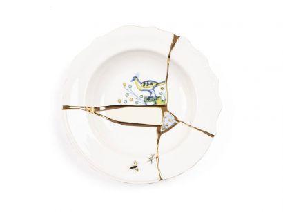 Kintsugi assiette creuse 09621