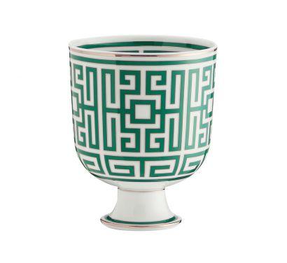Labirinto Smeraldo Cachepot Vase H. 19