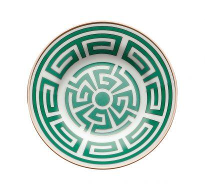 Labirinto Smeraldo Assiette pour Tasse à Café Ø 11 cm