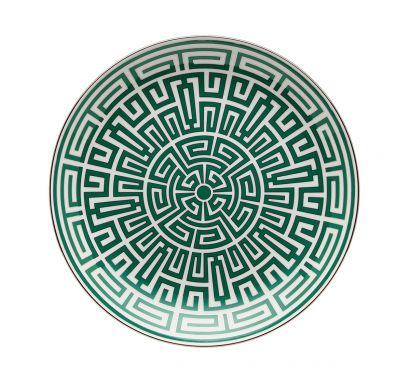 Labirinto Smeraldo Assiette Pièce Maîtresse Ø 31 cm