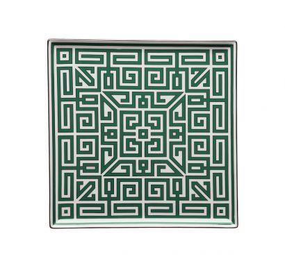 Labirinto Smeraldo Assiette Vide-Poches L. 30 cm - P. 30 cm