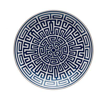 Labirinto Zaffiro Assiette Pièce Maîtresse Ø 31 cm