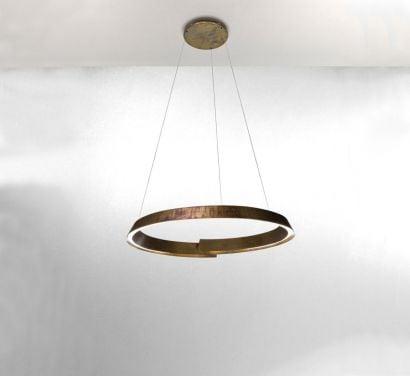 Swirl Suspension Lamp