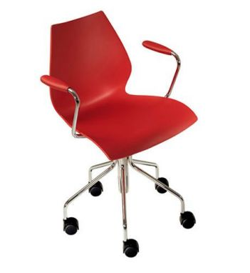 Maui Chair on Wheels with Armrests