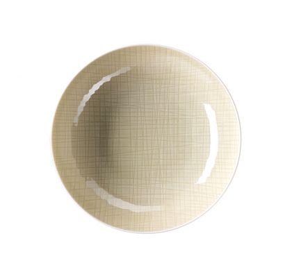 Mesh Cream Deep Plate 21 cm