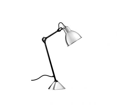 N ° 205 Lampe De Table - Noir satiné