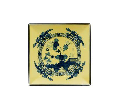 Oriente Italiano Citrino Assiette Vide-Poches L. 21 cm - P. 21 cm