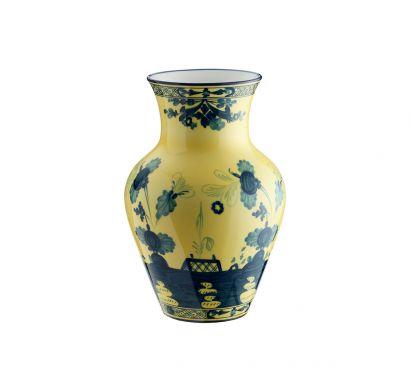 Oriente Italiano Citrino Ming Vase H. 25