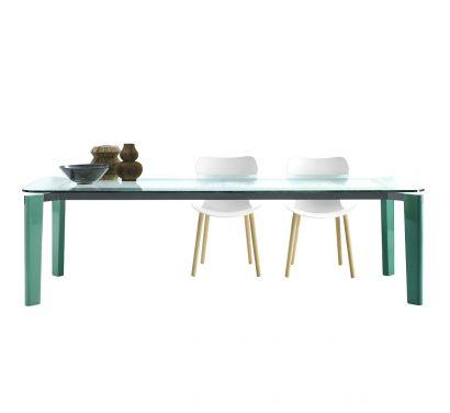 Oskar Table - 245 Vert Verre