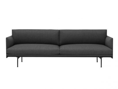 Outline 3 seater sofa by Muuto - Remix 163