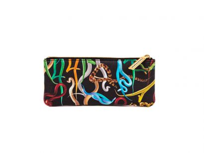 Snakes Pencil Case - L. 21 cm - H. 9 cm