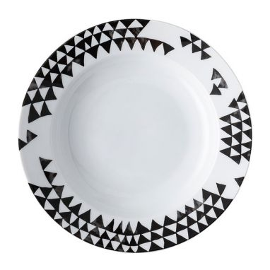 Magic Garden Black Seeds Soup Plate Ø. 23 cm
