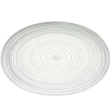 TAC Gropius Stripes Oval Plate L. 38 cm