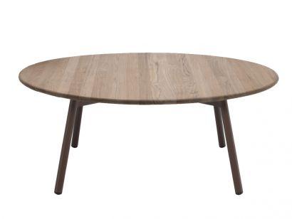 Piper Coffee Table Round Smoke/Teak