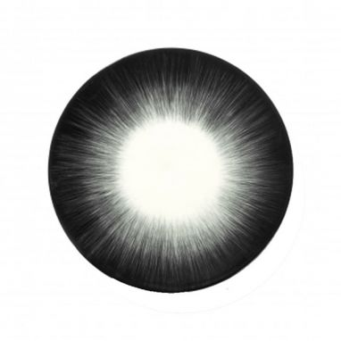 Dè Plate Ø. 17,5 cm Off-White/Black Var 5