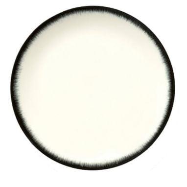 Dè Plate D24 cm Off-White/Black Var 3