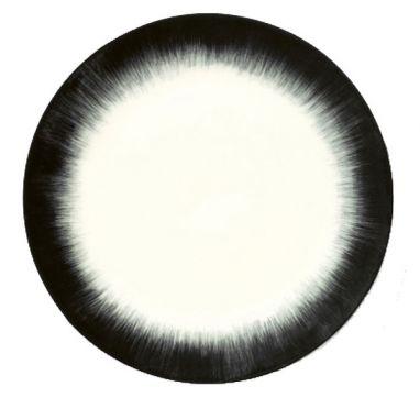 Dè Plate D24 cm Off-White/Black Var 4
