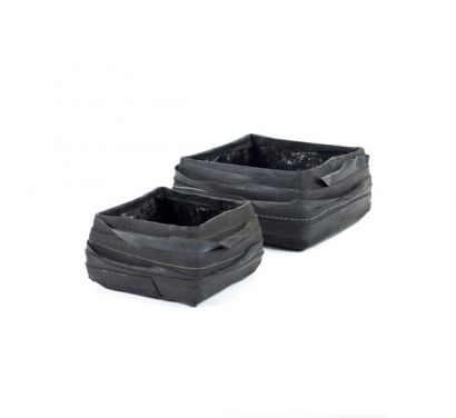 Recycle Square Pot Set of 2 pcs