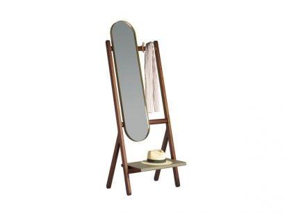 Ren Collection - Specchio Appendiabiti da Terra