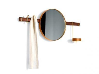 Ren Collection - Specchio Appendiabiti da Parete