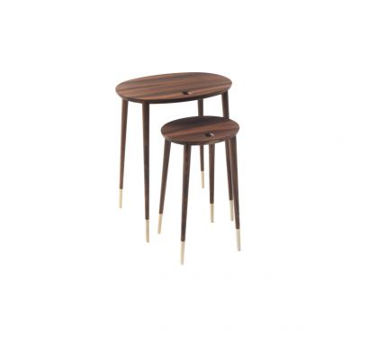 Rogers Tables basses Noyer Canaletta