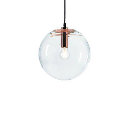 Selene Suspension Lamp - Ø. 25 cm/Copper
