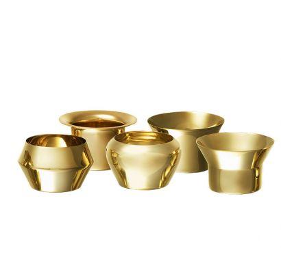 Kin Brass Tealights Collection
