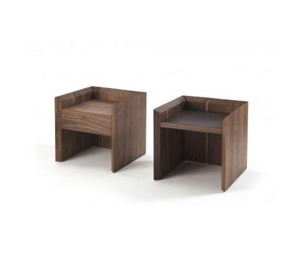 Soft Wood Bedside table