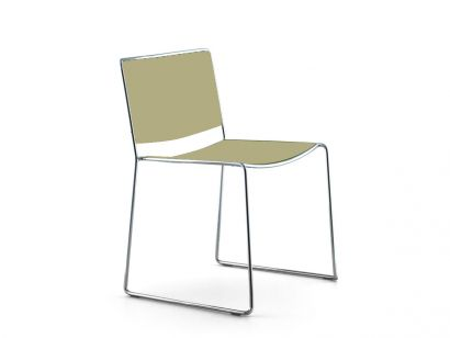 Spindle  Chair - Beige Lacquered Color