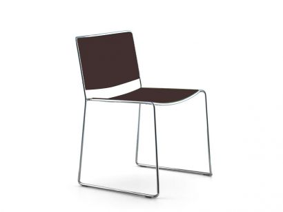 Spindle  Chair - Coffee Lacquered Color