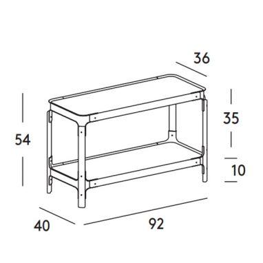 Steelwood Shelving System - 1 Fila