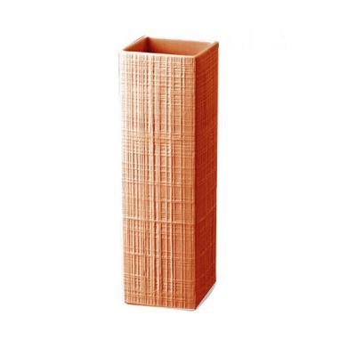 Sixty & Twelve - Structura Fabric / Coral H. 27 cm