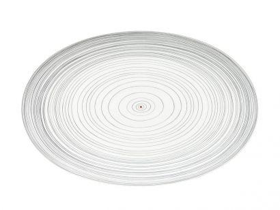 TAC Gropius Stripes Oval Plate Ø 28 Cm