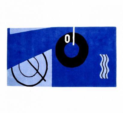 Blue Marine Rug