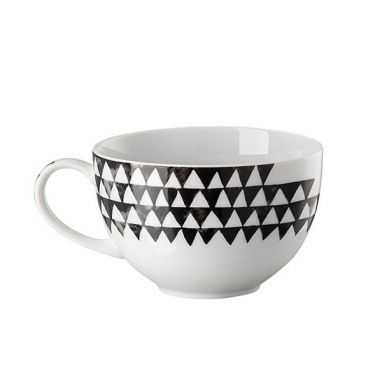 Magic Garden Black Seeds cappuccino cup with handle