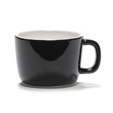 Passe-Partout Cappuccino Cup VVB - Black Glazed
