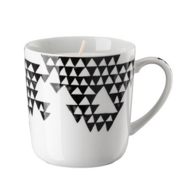 Magic Garden Black Seeds Cup with Candle