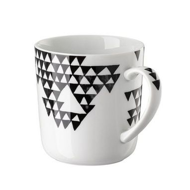 Magic Garden Black Seeds Mug with Handle