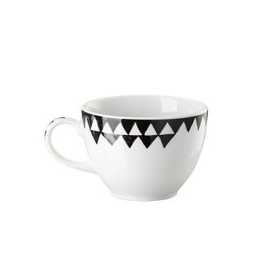 Magic Garden Black Seeds espresso cup with handle