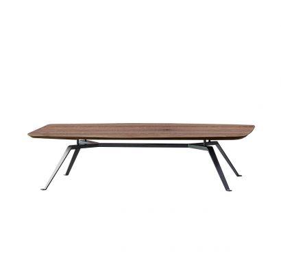 Tie Hexagonale Table - chêne thermo-traité
