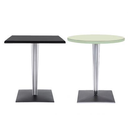 Top Top Table - Square Leg and Aluminum Base