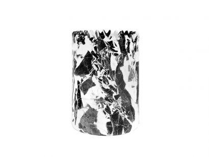 Triangoli - Grand Antique Marble Vase H - D15 x H21 cm